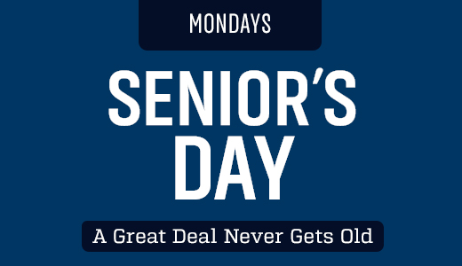 Senior's Day - Monday